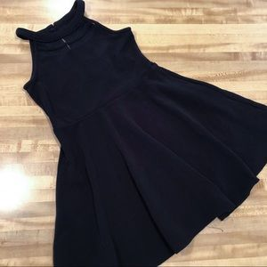 Children's Place Girls Black Formal Dress
